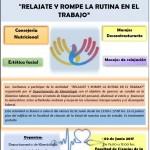 afiche actividad Departamento de kinesiologia