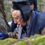Rector de la Universidad de Chile conociendo los Bosques en Miniatura