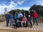 Representantes de los sitios del LTSER-Chile y otros participantes en la reunión ampliada