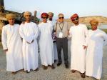 El Dr. Mario Rivera (quinto de izquierda a derecha) en la reunión del Comité Científico Internacional sobre Patrimonio Arqueológico UNESCO-ICOMOS en Salalah, Sultanato de Omán.
