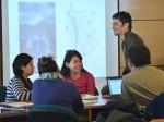 """Un aspecto del curso """"Epistemología de las Ciencias Sociales""""."""