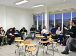 """Curso """"Epistemología de las Ciencias Sociales"""" a cargo del Dr. Iván Oliva Figueroa de la Universidad Austral de Chile (Profesor visitante)."""