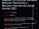 Magíster Cs Sociales RRSS