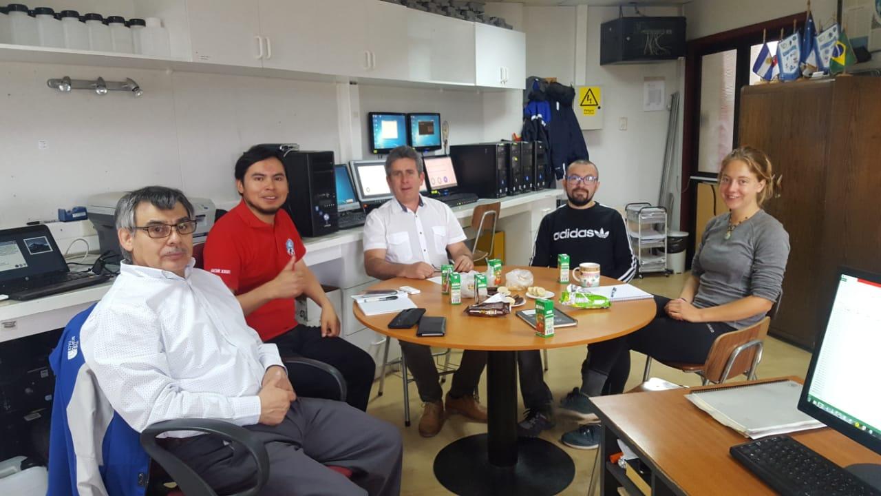 Visita de Dr. (c) Daniel Álvarez Tolentino, Perú.