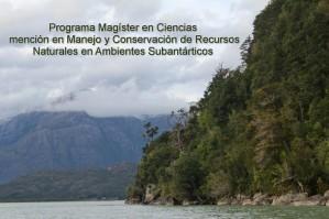 Magíster en Ciencias mención Manejo y Conservación