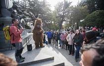 Universidad celebró el Día Mundial del Turismo con recorrido inclusivo por el centro de Punta Arenas