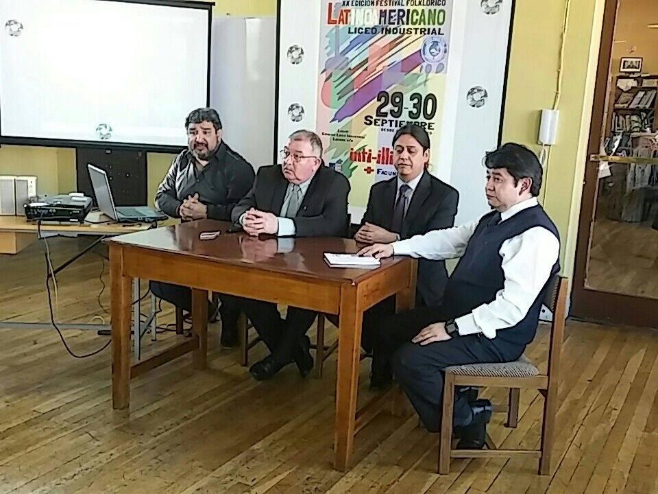 Liceo Industrial realizará Festival Folklórico Latinoamericano
