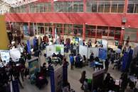Exposiciones XX Congreso en Patio Cubierto