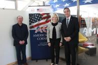 Andres Mansilla, Carol Perez e intendente Flies