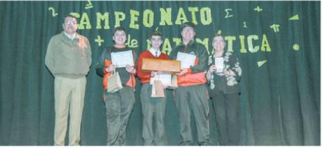 LEUMAG se coronó campeón del torneo interescolar de Matemática