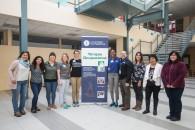 Estudiantes y profesor Alfred Bracciano junto a académicas de Terapia Ocupacional de la UMAG.