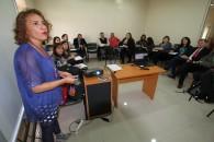 Comisión género UMAG exposición Ximena Soto