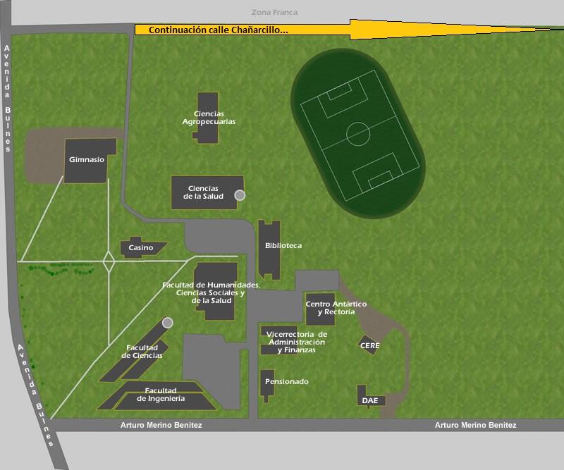 Autoridad universitaria busca pavimentación del campus a cambio de pasaje Chañarcillo