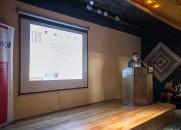 El director de CERE-UMAG, Dr. Humberto Vidal, también expuso en este seminario conjunto.