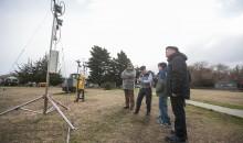 El Laboratorio de Investigaciones Atmosféricas mostró parte de sus proyectos de investigación en ozono.