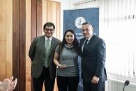 Joselyn Oyarzo, estudiante de 3er año de Ingeniería Comercial