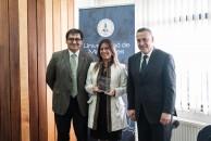 Melissa Flores es académica de Terapia Ocupacional y encargada de RSU. Viajará a la Universidad de Alicante.