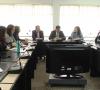 La reunión se sostuvo en la sala de consejo Hernando de Magallanes.
