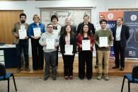 Docentes de la UMAG que recibieron la certificación del curso