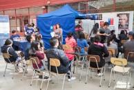 Gran cantidad de alumnos y alumnas llegaron a hacerse el test rápido del VIH SIDA