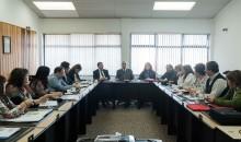 Reunión del Consejo Académico en agosto de 2018.
