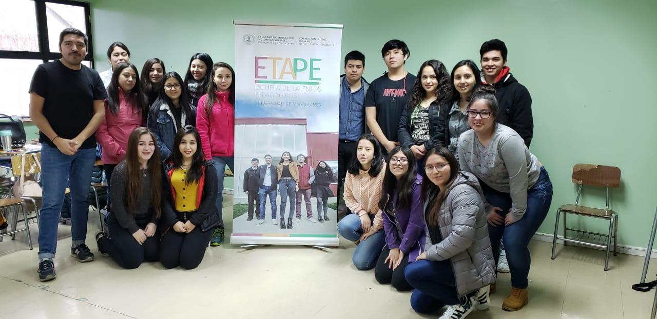 Escuela de Talentos Pedagógicos (ETAPE) de la Universidad de Magallanes inició sus clases en Puerto Natales