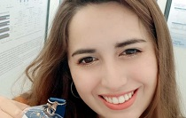Estudiante de Biología Marina expuso resultados de su investigación sobre algas en congreso europeo