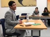 El Dr. Christian Formoso realizó una clase sobre poesía chilena en la Universidad de Sevilla (España).