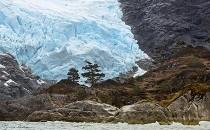 Fiordos en la Patagonia tamaño boletin