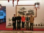 Visita a embajada China por parte de UMAG en octubre de 2019