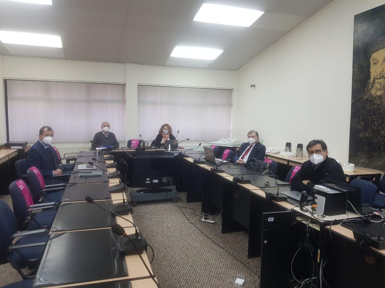 Equipo directivo retoma reuniones presenciales de gestión universitaria