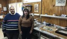 Eduardo Faundez y Mariom Carvaja, investigadores del Lab. Entomologia UMAG
