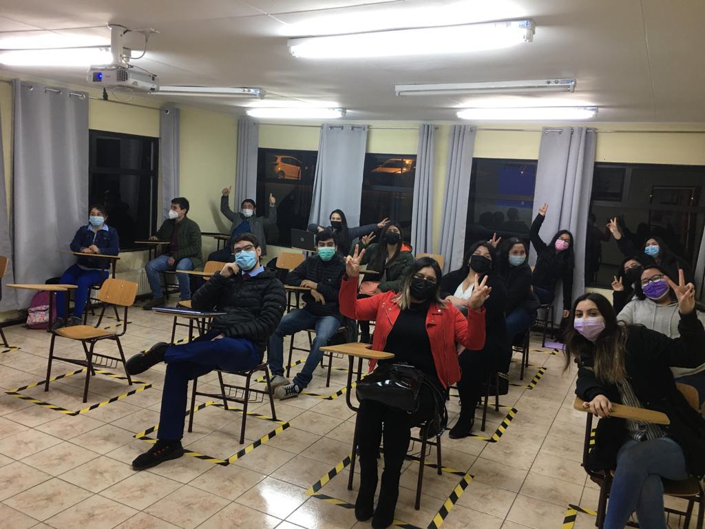 Centro Universitario Puerto Natales inició clases presenciales con 80% de asistencia